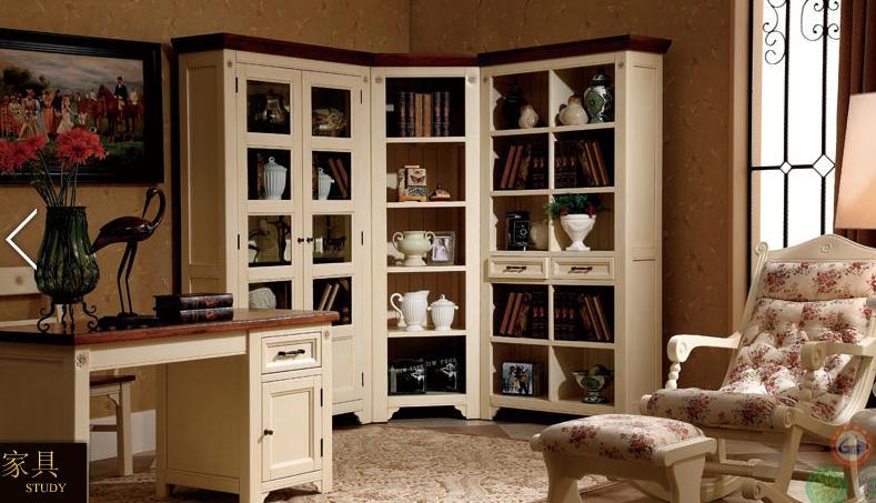 清代书柜手绘图