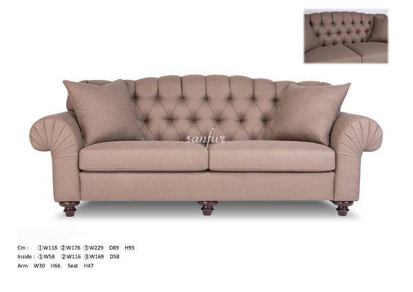 具*欧式布沙发