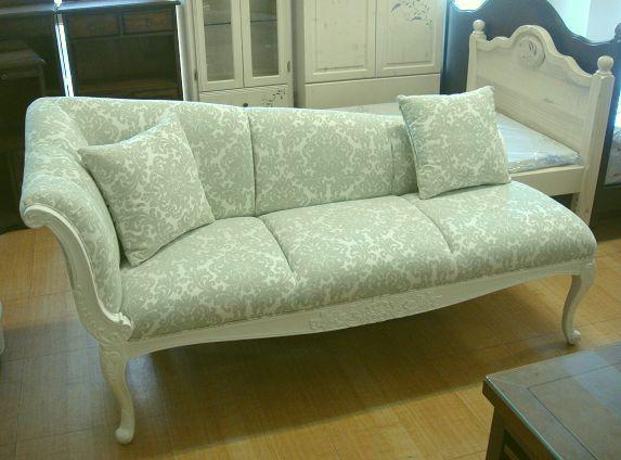 上福家具~.欧式贵妃椅 珍珠白 主人沙发椅.雕刻 宝石蓝.
